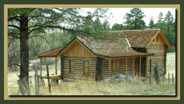 Cute cabin in the Gila
