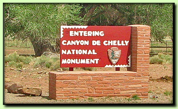 Canyon sign