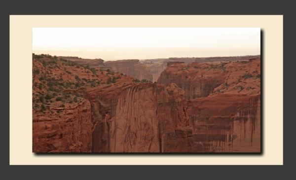 Many canyon layers