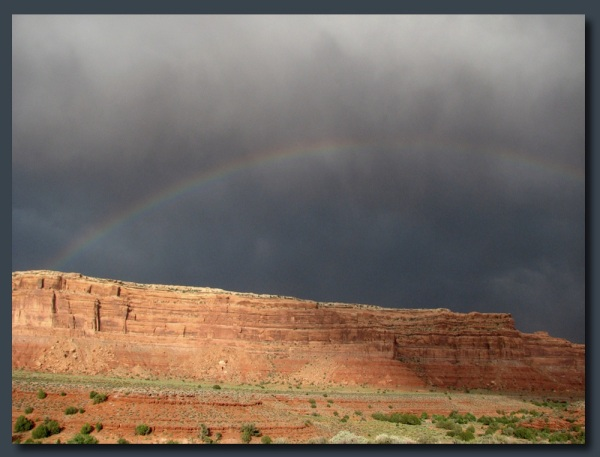 Post storm rainbow