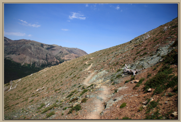 Trail to Scenic Point.