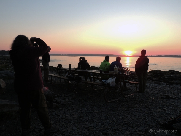 Sunrise, Coffee, Friends, Beach...Yes!