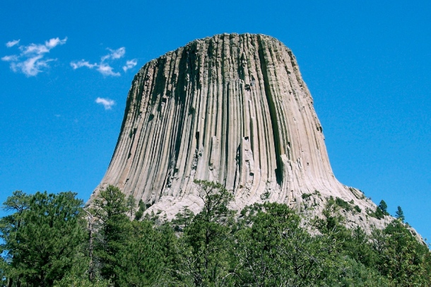 Devil's Tower - Wikipedia Public Domain Photo
